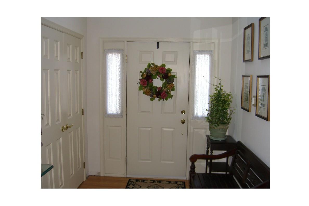 Interior front door trim historical replica fine homebuilding interior front door before trim project eventelaan Image collections