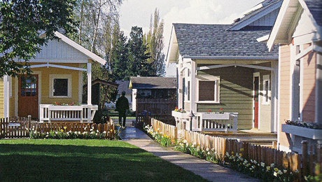 Small houses can be inviting.