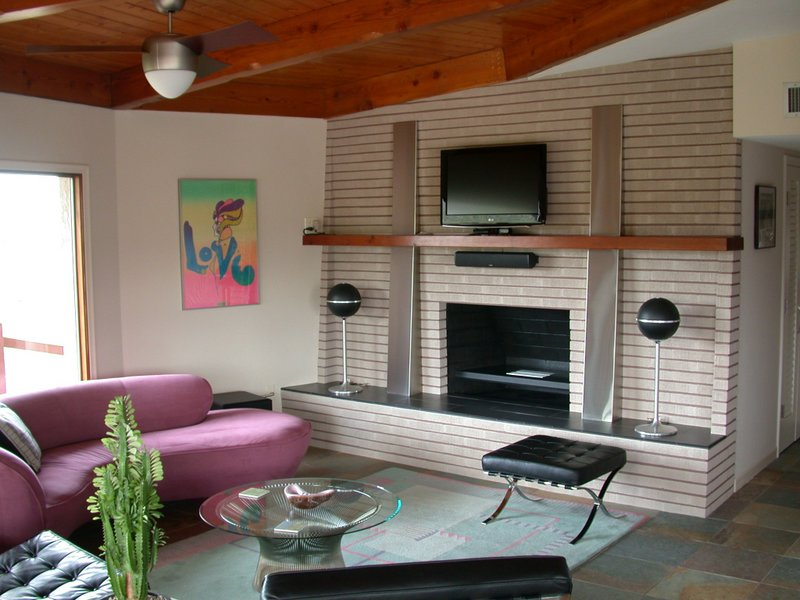 Renovated Mid Century Fireplace Fine Homebuilding