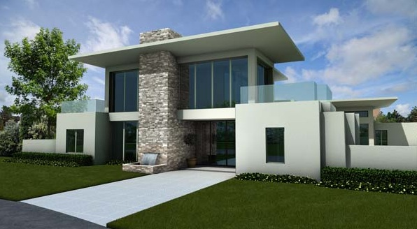 A Take On Architectural Modernism The New American Home 2012 Now Under Construction In Winter Park Florida Will Showcase Number Concept Products