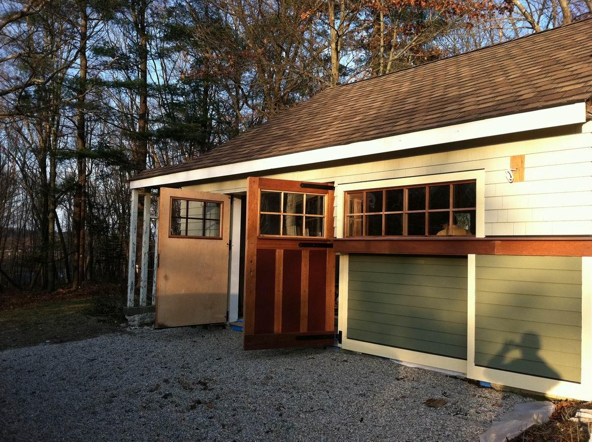 Garage progress fine homebuilding for Finehomebuilding com houses