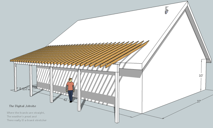 How To Calculate Rafters For Intersecting Roof Planes The