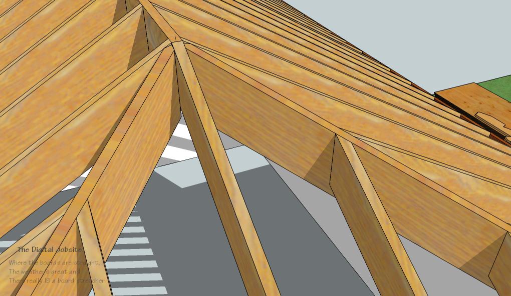 Model Amp Measure Part One Hip Rafters De Mystified By
