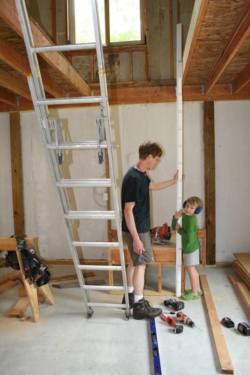 patrick u0026 39 s barn  building basic stairs