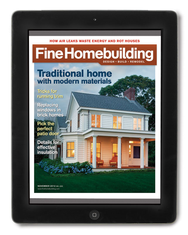 Download The App And Start Reading Fine Homebuilding Magazine On Your Ipad