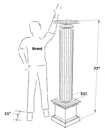 correct chair-rail height