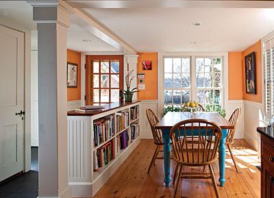 Bookshelf divider
