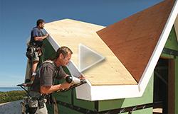 how to install exterior PVC trim