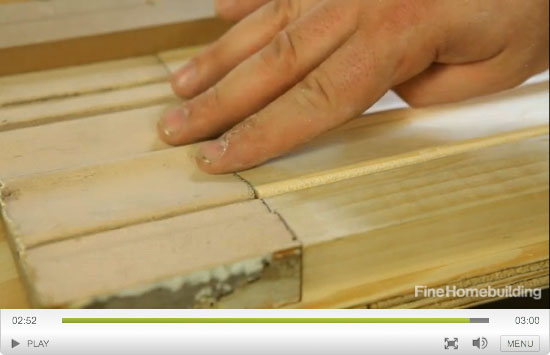 reproducing traditional moldings video series