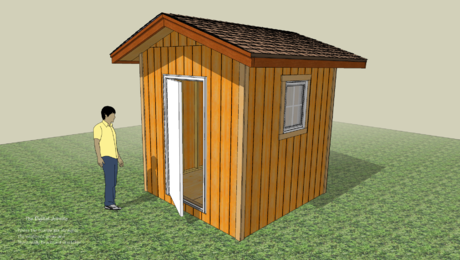 A step ahead with a model shed