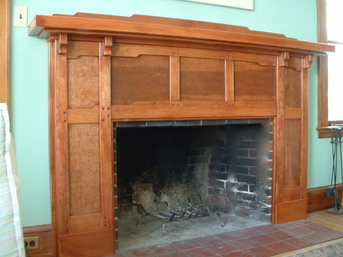 Arts & Crafts Fireplace mantle - Fine Homebuilding