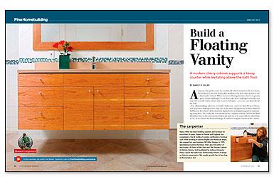 Diy Floating Vanity Cabinet. Build a Floating Vanity  View more videos Video Series How to Fine Homebuilding