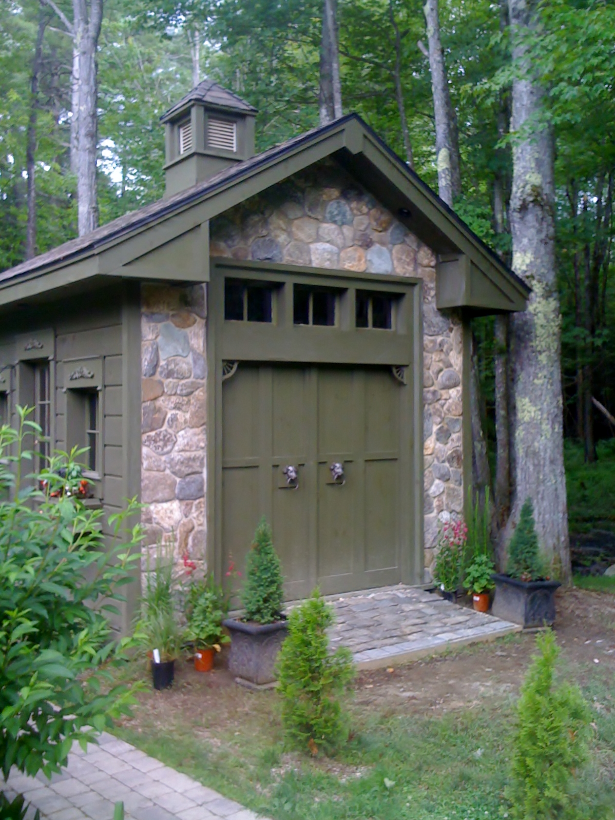 garden shed in gray maine fine homebuilding