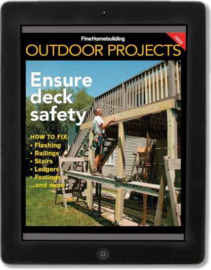 Ensure deck safety FREE iPad mini issue