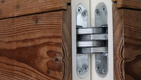Using Soss Hinges For A Concealed Door Fine Homebuilding