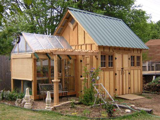 Garden shed fine homebuilding Fine home building