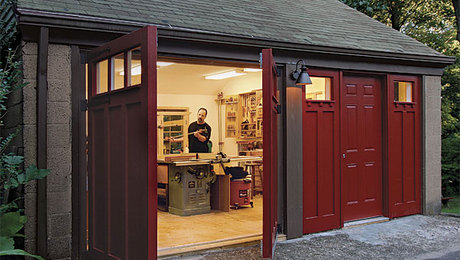 A workshop is possibly the most common alternative use of an old garage. Fine Woodworking art director Michael Pekovich's total garage shop makeover is a prime example.