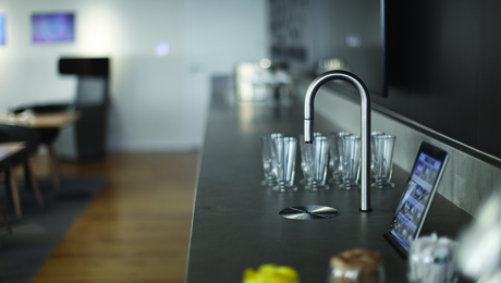 TopBrewer blends premium coffee with smartphone technology.