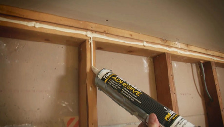 Hang Drywall With Adhesive Fine Homebuilding