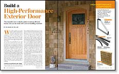 Build a High-Performance Door - Fine Homebuilding