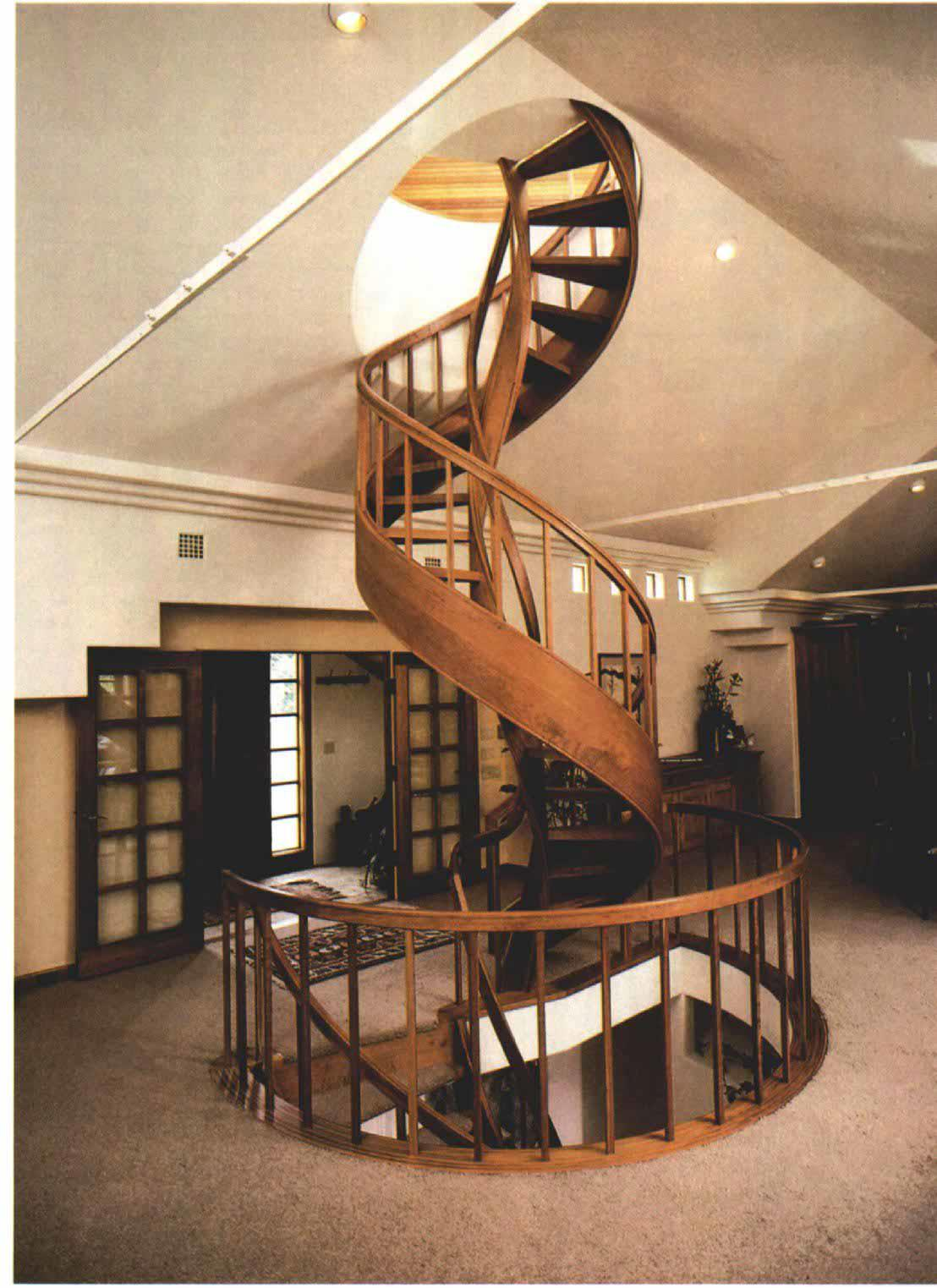 The story of a stairway that never ends fine homebuilding for Fine home building