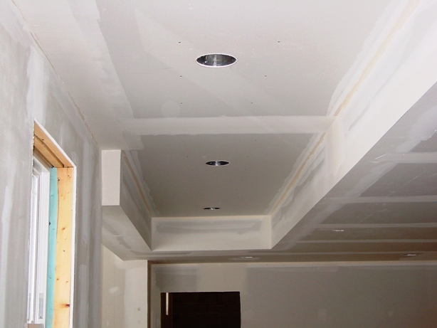 basement drop ceiling. A basement soffit built from drywall and corner bead Basement ceilings  or a drop ceiling Fine Homebuilding