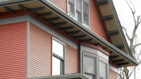 Vinyl siding, or simply beautiful?