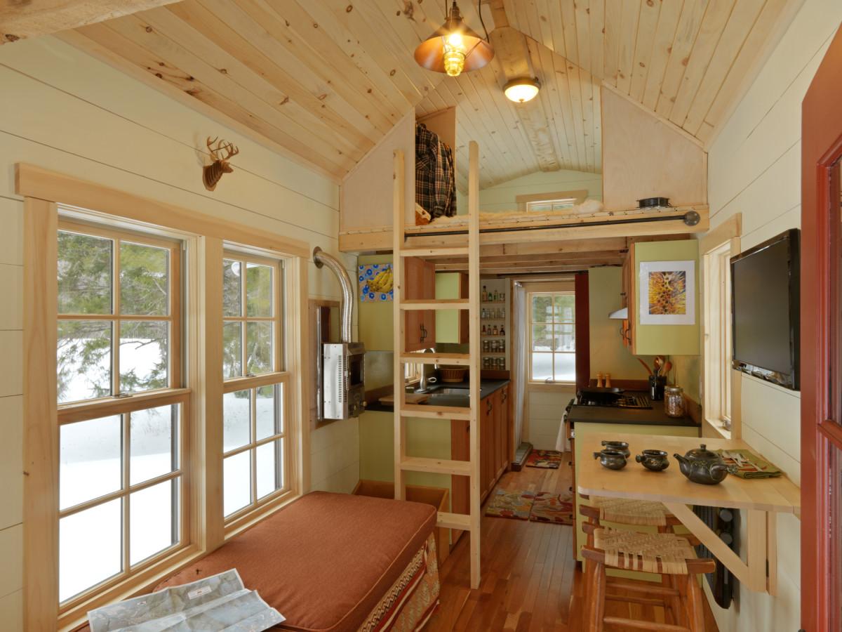 Tine House interior 1200x900 - Get Tiny Small House Interior Design  Background