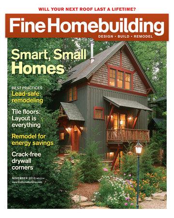 Issue 214 fine homebuilding for Finehomebuilding com
