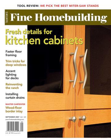 Issue 189 fine homebuilding for Fine homebuilding