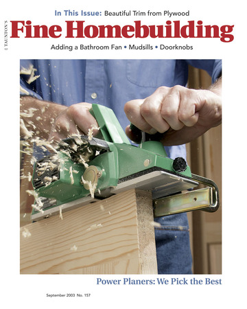 Issue 157 Fine Homebuilding