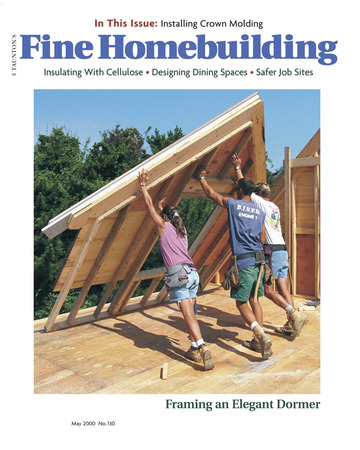 Issue 130 Fine Homebuilding