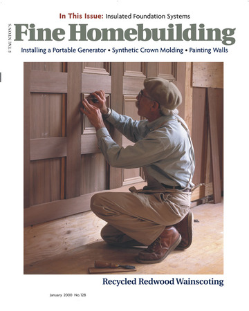 Issue 128 Fine Homebuilding