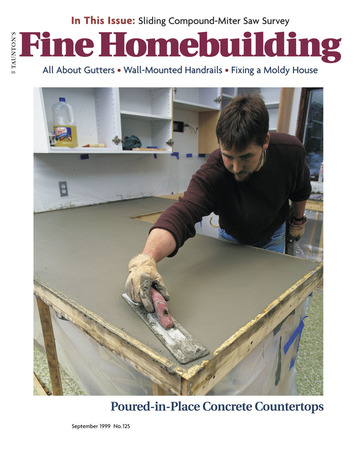 Issue 125 Fine Homebuilding