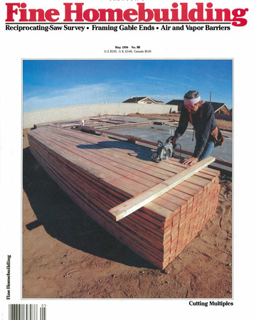 Issue 88 Fine Homebuilding