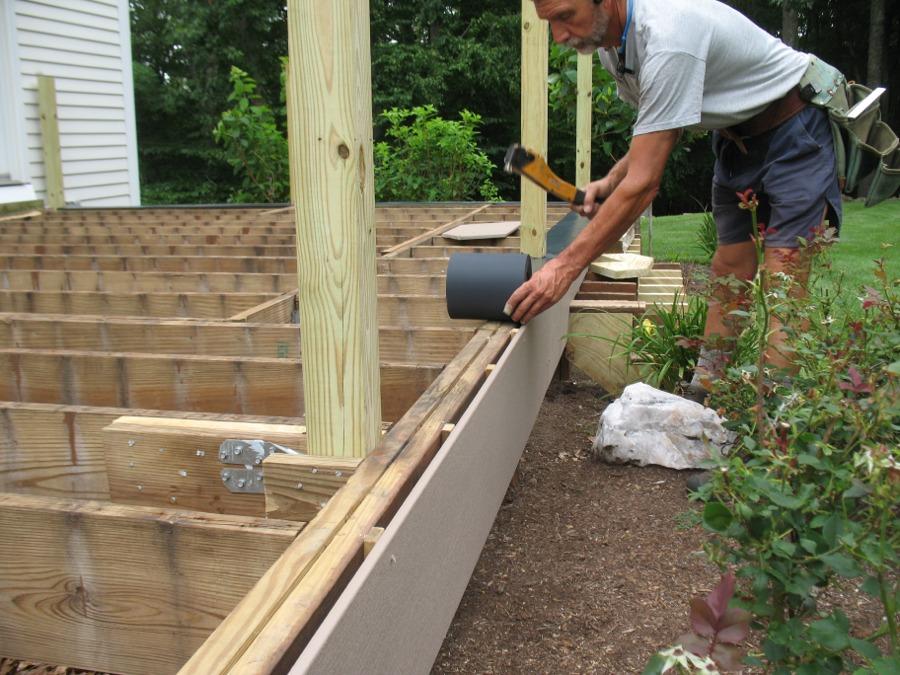 Spacing deck facias for bolt heads fine homebuilding