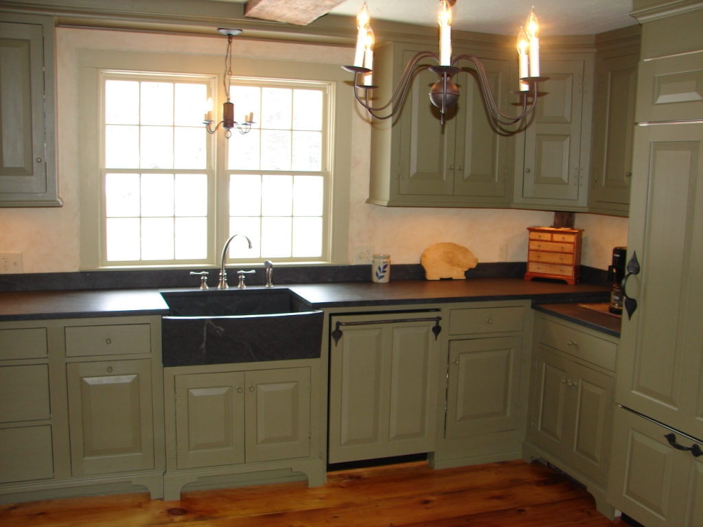 Kitchen In 1776 Colonial Fine Homebuilding