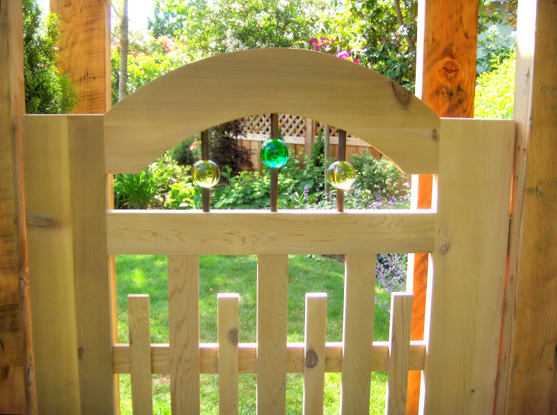 Garden Gate & Pergola