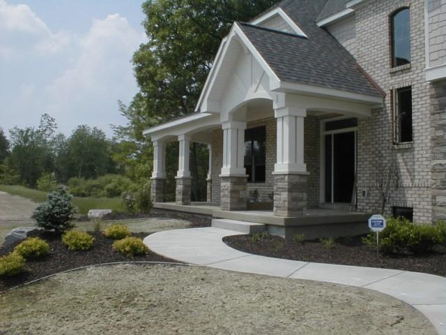 Exterior Trim exterior trim and porch - fine homebuilding