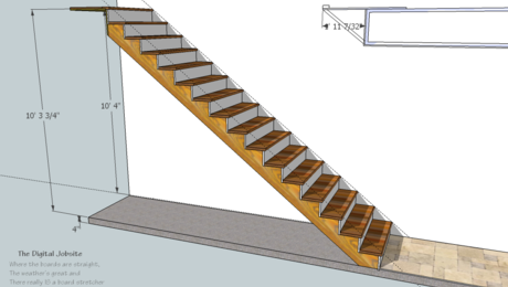 A Step in the Right Direction stair model