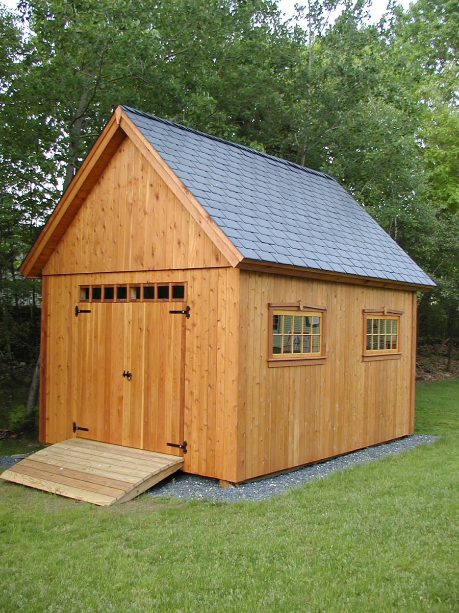 Cedar Shed For Mower Fine Homebuilding