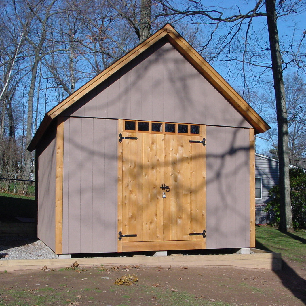 12x16 Storage Shed Plans : Modified better barns plan fine homebuilding
