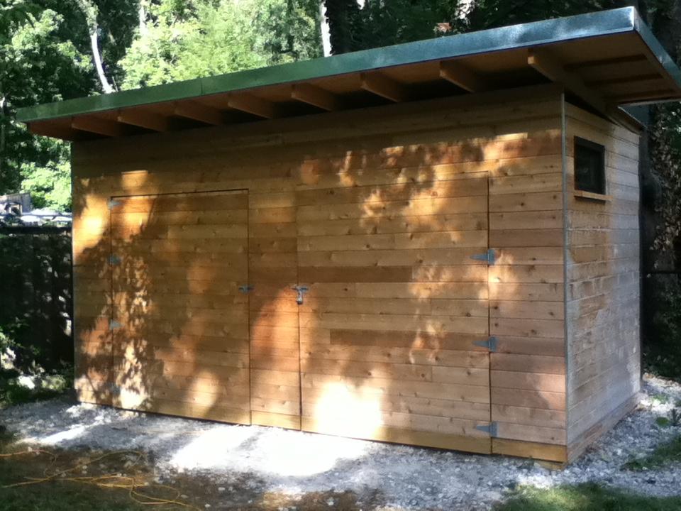 Modern Cedar Shed Fine Homebuilding