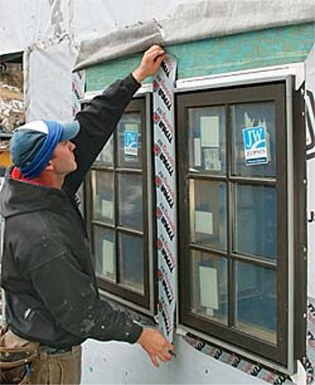 2012 Irc Codifies Window And Door Pan Flashings Fine Homebuilding