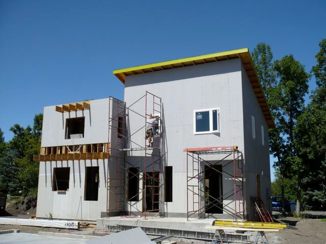 Building homes with american made materials could save the for Cost to build a house in bozeman mt