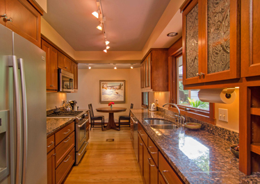 Edina ranch house addition remodeling fine homebuilding for Ranch galley kitchen remodel
