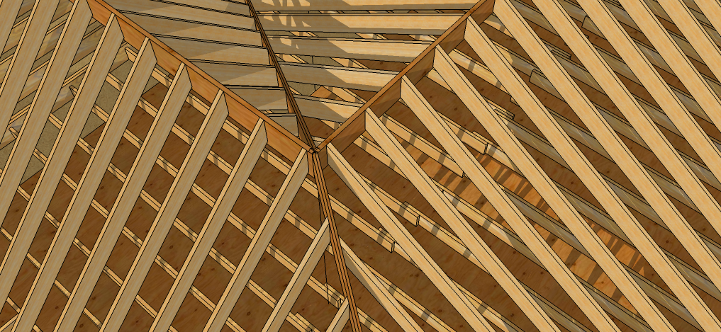 A Tale Of Two Pitches Exploring Off Angle Roof Framing