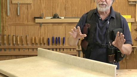 jig laminate cutting countertop countertops build tips