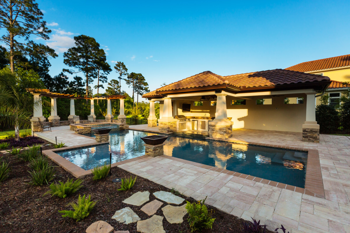 Pool Cabana - Fine Homebuilding