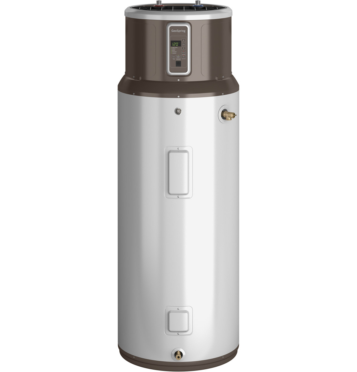New rules for large electric water heaters fine homebuilding geospring water heater has an energy factor of 31 making it about 3x as efficient as an electric resistance water heater other features include multiple sciox Choice Image